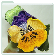 yellow-and-purple-pansy-icon