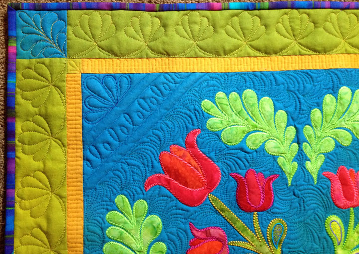 Embroidery Quilt Border Designs : Patsy Thompson Designs, Ltd. 2015 April