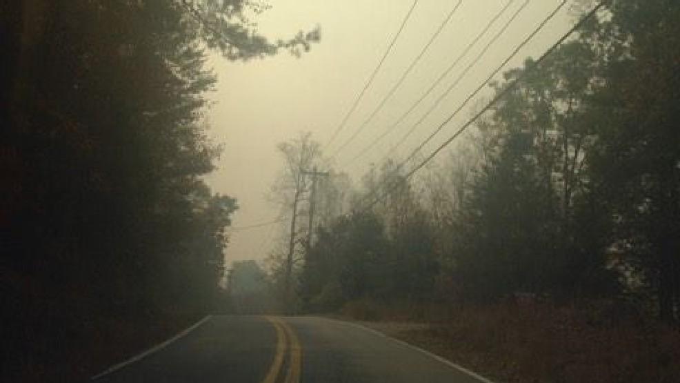 hazy air