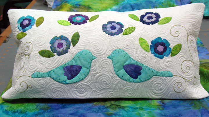 Patsy Thompson Designs, Ltd. » Free Motion Quilting : machine quilting around applique - Adamdwight.com